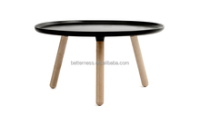 Leisure Small Modern Ash Wood furniture End table wooden dining table