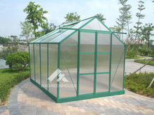 Widely used large polycarbonate aluminium profiles greenhouse construction HX65120G-1 Series