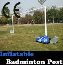 description of badminton[Inflatable Portable Badminton Net Post]