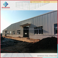 q345 steel beam prefabricated building low cost prefab warehouse in dubai