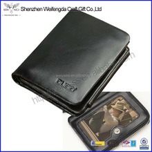 New arrival top grade genuine leather RFID blocking famous brand wallet for men