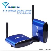 PAT-530 5.8GHz Wireless A/V STB Transmitter/Receiver with IR Signal Extension Wire Set