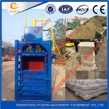 FACTORY PRICE COMMERCIAL scrap tire baler machine/baler machine for grass