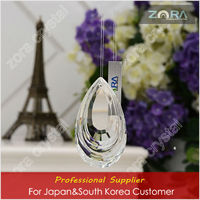 Machine cut crystal chandelier raindrop stand for Japan&South Korea