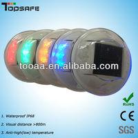 Solar LED Cat Eye Glass Road Stud
