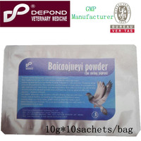 pigeon racing medicine baicaojueyi powder Veterinary drug for racing pigeon use