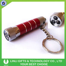 3 Led Torch Light Keychain With Beauty Surface