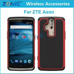 Alibaba Express Hybrid Dual Layer Armor Defender Protective Case Cover For Zte Axon