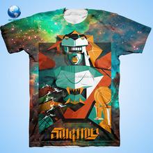 BIGWORLD Fashion Full Printing t shirt /t shirts for sublimation printing /Custom Sublimation Tshirt-JK012