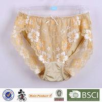 New Design Classical Mature Lady Boyshort Shiny Panties For Women