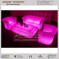 MUEBLES Y SILLAS LED / sofa muebles led