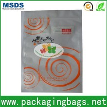 custom plastic resealable opp bag for food,bopp plastic packaging bag