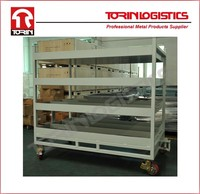 Factory Metal Stacking Auto Engine Rack for car manufacturers