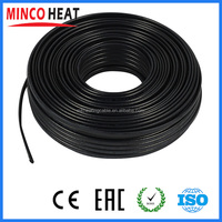 Flexible Low Voltage Rubber Cable Electrical Wire Freeze Deicing Flat Heating Cable