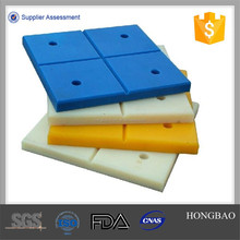 uhmwpe fender panel/ PEHD extruded sheet/ Low coefficient of friction PE 100