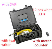 Fiber optic camera for Pipe Drain Sewer with 7 inch LCD display 3199F