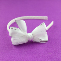 china custom high latest hair accessories crystal stretch headbands