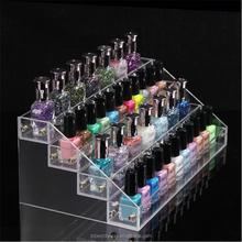 Custom nail polish rack detachable shelf nail polish shelf acrylic