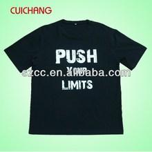 o neck t shirt design for men&fashion popular black t shirts