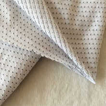 Men's shirt T-shirt Polo high-grade mercerized cotton fabric and cotton jacquard fabric V cotton dots