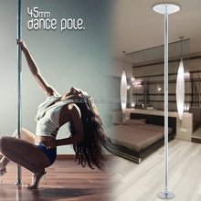 PORTABLE 45mm FITNESS DANCE STRIPPER POLE+ Practice DVD for WORKOUT,GYM, SEXY