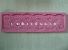gum past silicone lace mat for cake decorating