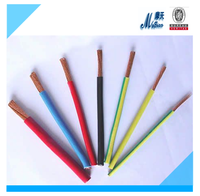 ZR-BV- 450/750V Bare conductor copper electrical wiring single core Non-sheathed Flame Retardant wiring electrical