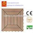 Não- deslizamento madeira composite telhas diy