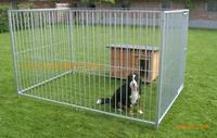 Foldable dog cage outdoor dog fence large dog kennels