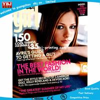 2015 4 color advertising magazine handmade brochure booklet printing
