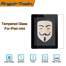 0.4mm tempered glass screen protector for iPad mini