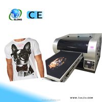 8 Color RIP Software Newest Digital 3d T-shirt Printer Machine Made in China