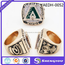 China Supplier Cheap Alloy Championship Mens Designer Finger Rings