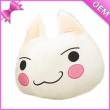 """Baby Safe 12"""" Cute Soft Cat Shaped Cushion, Plush Animal Cushion for Kids, Plush Toy Cat Cushion"""