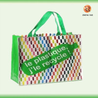 high quality printed pp non woven bag/competitive price pp non woven bag laminated /waterproof senrong non woven bag