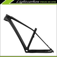 LIGHTCARBON 29 carbon bike frame mountain bike hard tail BB92 carbon tmb frames 2015 super light size 17'' only 960g
