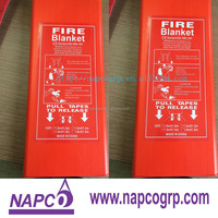 BS7944 heat resistant fire blanket for oil fields