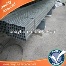 galvanizado plaza de tubo hueco de acero