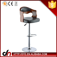 Elevador de gás personalizado hot sale bancos de bar alta quantidade bar cromado fezes moldura cromada bar stool