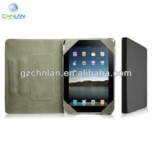 New arrival Stripe leather case cover for ipad, cover for ipad mini