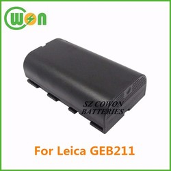 battery 7.4 volt 2000mAh 2600MAh battery for Leica GEB211 724117 SR20 733270 GEB21 ATX1200 ATX900 GEB90 RX1200 GEB 211