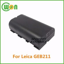 battery 7.4 volt 2000mAh 2600MAh battery for Leica GEB211 724117 SR20 733270 GEB21 ATX1200 ATX900 GEB90 RX1200 GEB 211