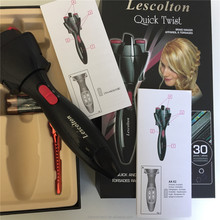 good quality newest product electronic twist and curl hair braider for young woman