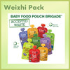 Organic Juice Stand Up Pouch With Spout Food Packaging Plastic Bag