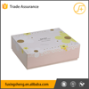 Beautiful cheap drawer style paper cosmetic packaging box with plastic tray and cute ribbon