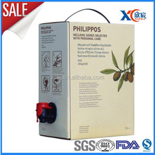 Lamination materials bag in box olive oil