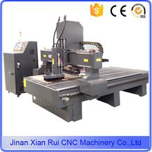 China wood working cnc router with atc 6 8 10 tools/liear atc cnc router with 6 8 10 tools/1300*2500mm linear atc machine