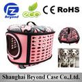 Plástico de alta qualidade dog crates para viagens