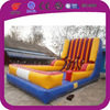 2015 funny adult inflatable velcro wall slide