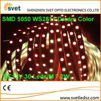 Digital Addressable Full Color RGB Color Changing Led Strip DC 12V SMD 5050 WS2811 30 Leds / M